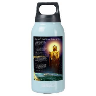 Amida's Golden Chain of Love 1 Insulated Water Bottle
