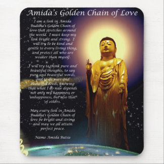 Amida's Golden Chain of Love 1 Mouse Pad