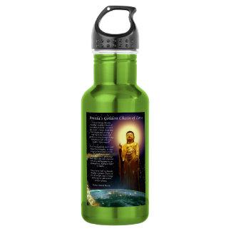 Amida's Golden Chain of Love 1 Water Bottle