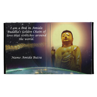 Amida's Golden Chain of Love 2 iPad Folio Covers