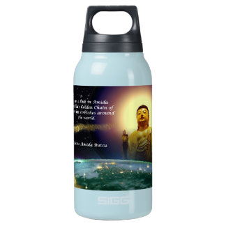 Amida's Golden Chain of Love 2 Insulated Water Bottle