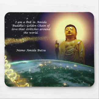Amida's Golden Chain of Love 2 Mouse Pad