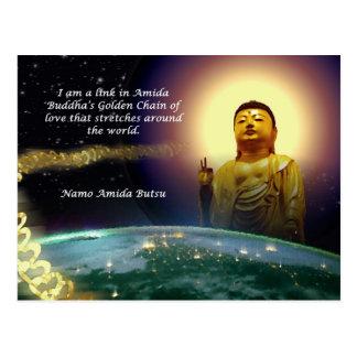 Amida's Golden Chain of Love 2 Postcard