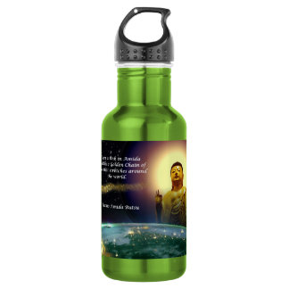 Amida's Golden Chain of Love 2 Stainless Steel Water Bottle