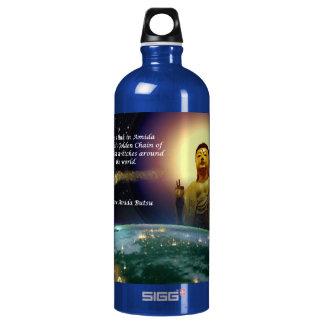 Amida's Golden Chain of Love 2 Water Bottle
