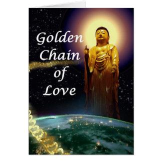 Amida's Golden Chain of Love 3 Card