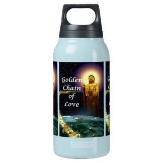 Amida's Golden Chain of Love 3 Insulated Water Bottle