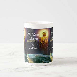 Amida's Golden Chain of Love 3 Tea Cup