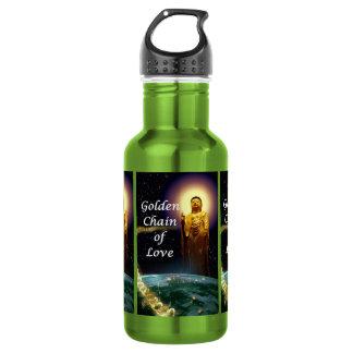 Amida's Golden Chain of Love 3 Water Bottle