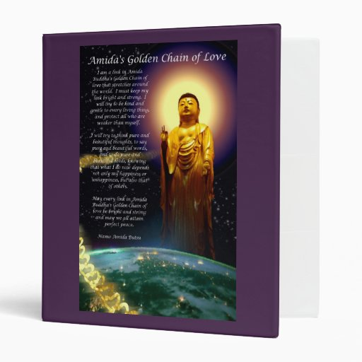 Amida's Golden Chain of Love binder