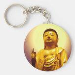 Amida's Golden Chain of Love keychain