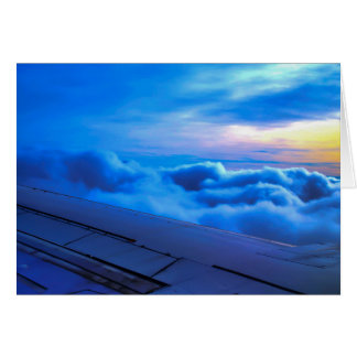 amidst d clouds notecard