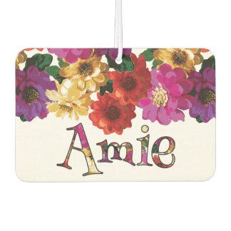 Amie Colorful Fun Floral EtyArt™ Air Freshener