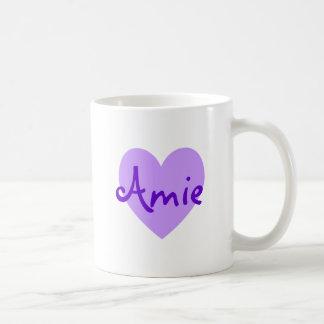 Amie in Purple Coffee Mug