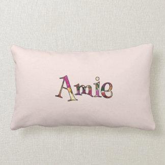 Amie's Colorful Fun Lumbar Pillow