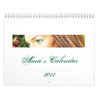 Amie's Calendar2011 Calendar