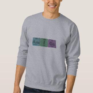 Amiga-Am-I-Ga-Americium-Iodine-Gallium Sweatshirt