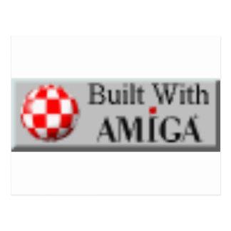 AMIGA COMPUTERS POSTCARD