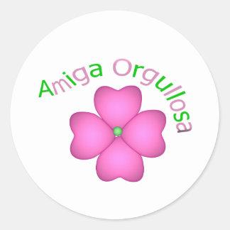 Amiga Orgullosa Stickers