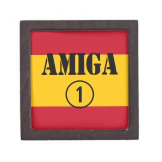 Amigas españolas: Uno de Amiga Numero Caja De Regalo De Calidad