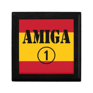 Amigas españolas: Uno de Amiga Numero Cajas De Joyas