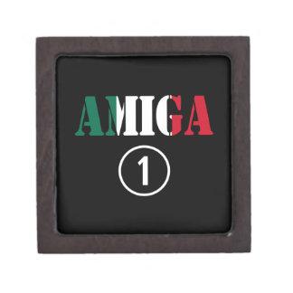 Amigas mexicanas: Uno de Amiga Numero Caja De Joyas De Calidad