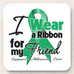 Amigo - cáncer de hígado Ribbon.png Posavasos