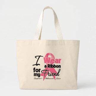 Amigo - cinta del cáncer de pecho bolsa de mano