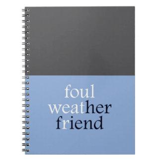 """Amigo de Foulweather "" Cuadernos"