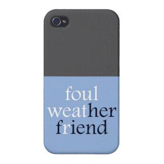 Amigo de Foulweather iPhone 4 Carcasas