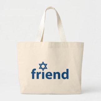 Amigo de Israel Bolsa De Mano
