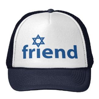 Amigo de Israel Gorro De Camionero