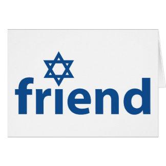 Amigo de Israel Tarjetón