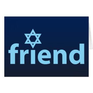 Amigo de Israel Felicitación