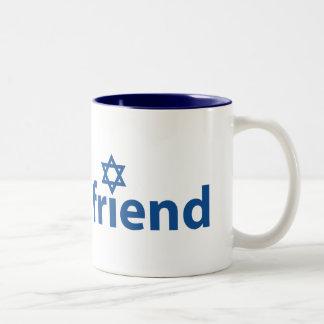 Amigo de Israel Tazas De Café