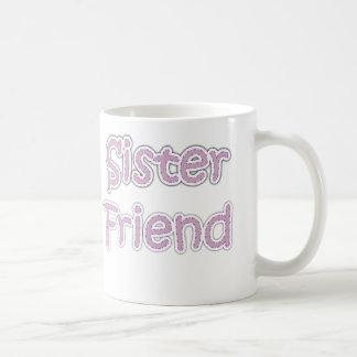 Amigo de la hermana taza clásica