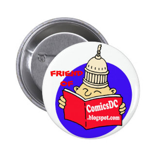 AMIGO de la insignia de ComicsDC Pin Redondo De 2 Pulgadas