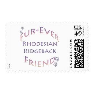 Amigo de la Piel-nunca de Rhodeisan Ridgeback Franqueo