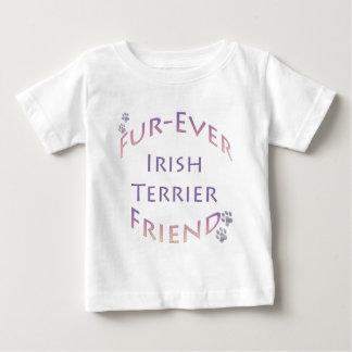 Amigo de la Piel-nunca de Terrier irlandés Playera Para Bebé