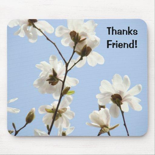 ¡Amigo de las gracias! la magnolia del mousepad fl