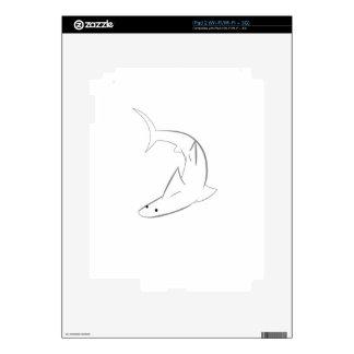 Amigo de Sharky iPad 2 Skins