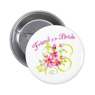 Amigo del botón de la novia
