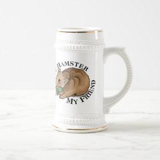 Amigo del hámster tazas de café