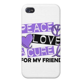 Amigo del linfoma de la curación H del amor de la iPhone 4/4S Funda