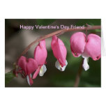 Amigo feliz del el día de San Valentín Tarjeta