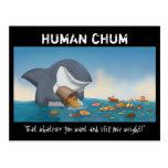 Amigo humano tarjetas postales
