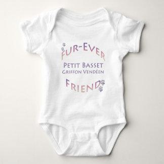 Amigo pequeno de la Piel-nunca de Griffon Vendeen Camisas