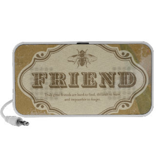 Amigo: una moda lamentable mini altavoz