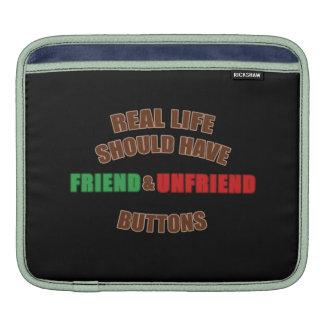 Amigo y Unfriend Fundas Para iPads