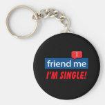 ¡Amigo yo, soy solo! Llaveros Personalizados